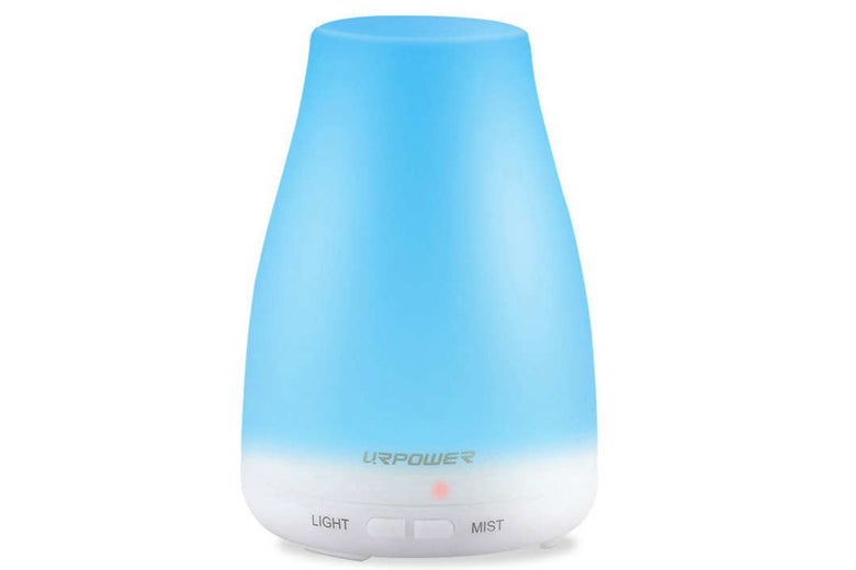 Blue Urpower essential oil diffuser.