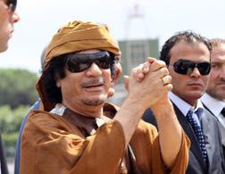 Muammar Qaddafi. Click image to expand.