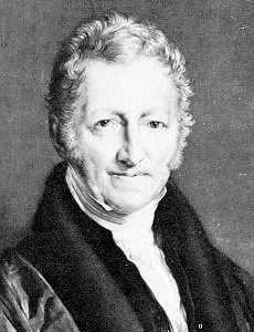 Thomas Malthus.