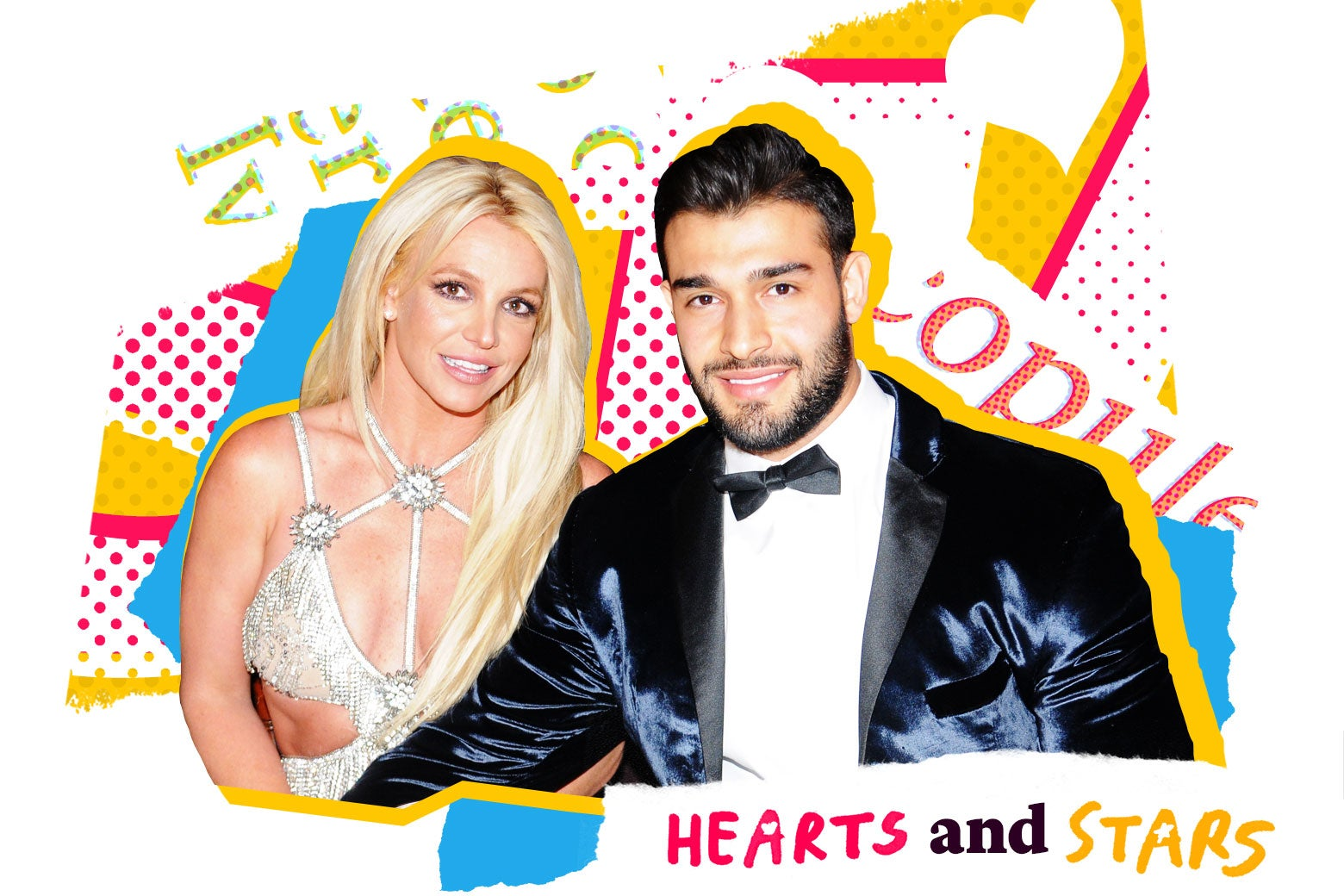 Britney Spears and Sam Asghari.