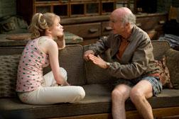 Evan Rachel Wood and  Larry David in Whatever Works. Click image to expand.