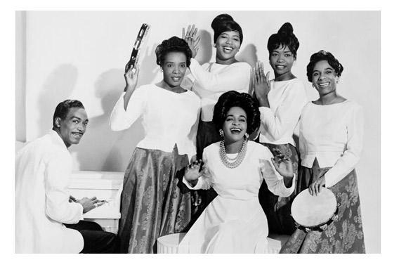 Clara Ward and her gospel singers, 1962.