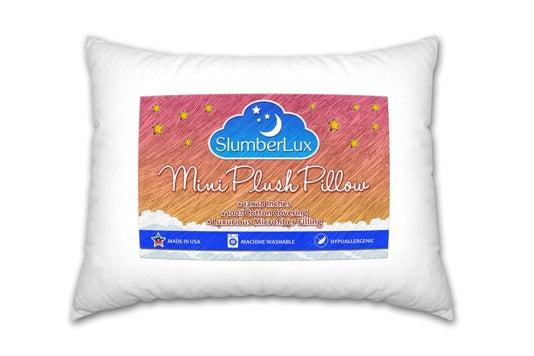 SlumberLux Toddler Pillow.