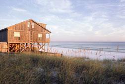 House on the beach.