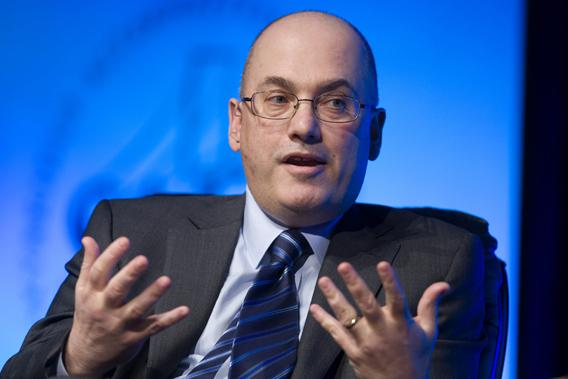 Hedge fund manager Steven A. Cohen, founder and chairman of SAC Capital Advisors, responds to a question during a one-on-one interview session at the SkyBridge Alternatives Conference in Las Vegas, Nevada May 11, 2011.