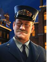 Tom Hanks in The Polar Express.          Click image to expand.