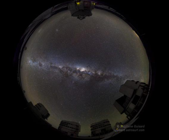 The rise of the Milky Way
