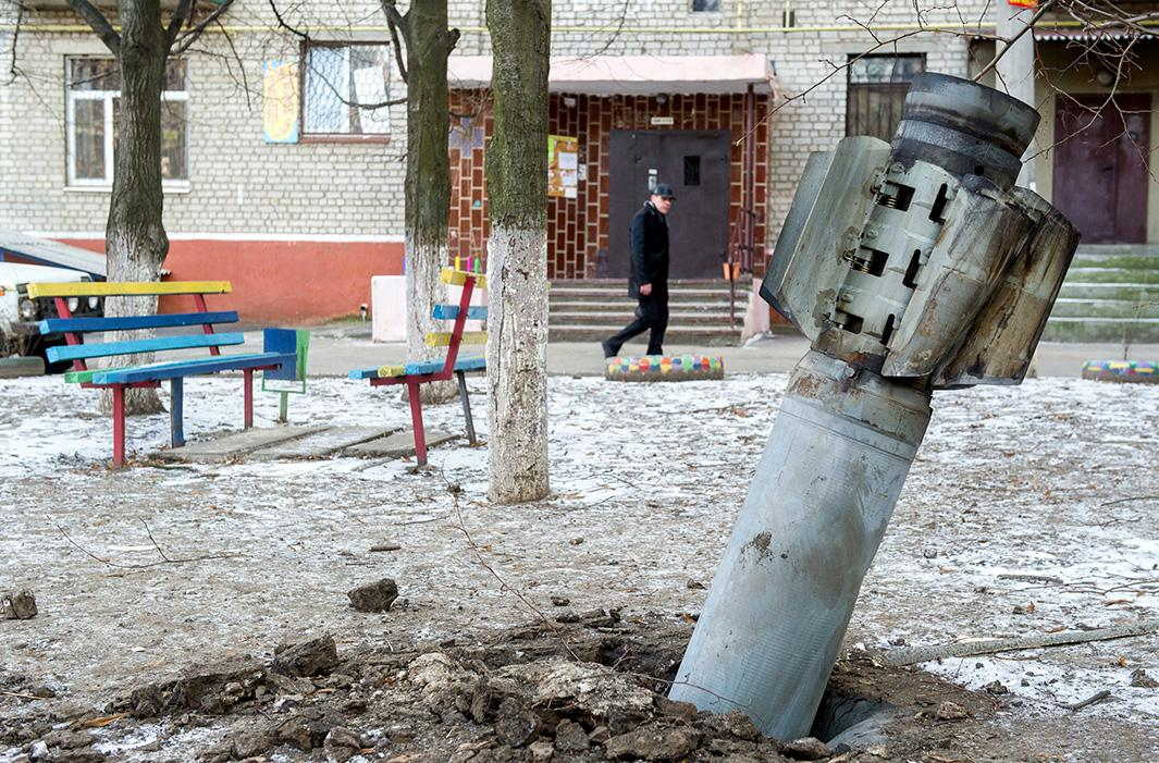 Feb. 11, 2015: Kramatorsk, in the Donetsk region, Ukraine