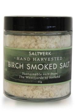 Saltverk Birch Smoked Salt.