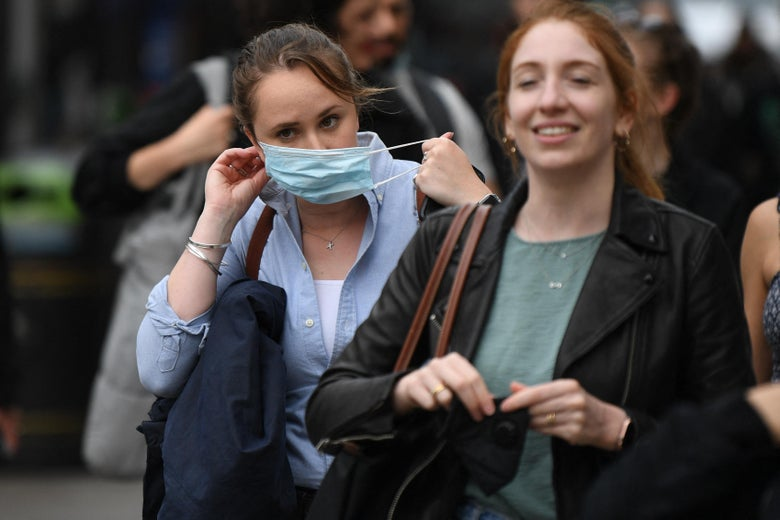 Britain Set to Scrap Pretty Much All COVID-Related Restrictions, Including Mask Mandates