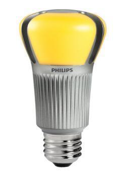 Philips dimmable LED 12.5 Watt light bulb.