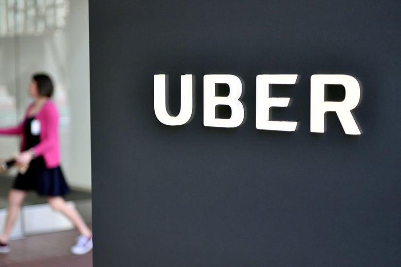 Uber rental car bike
