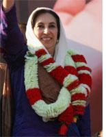 Benazir Bhutto. Click image to expand.