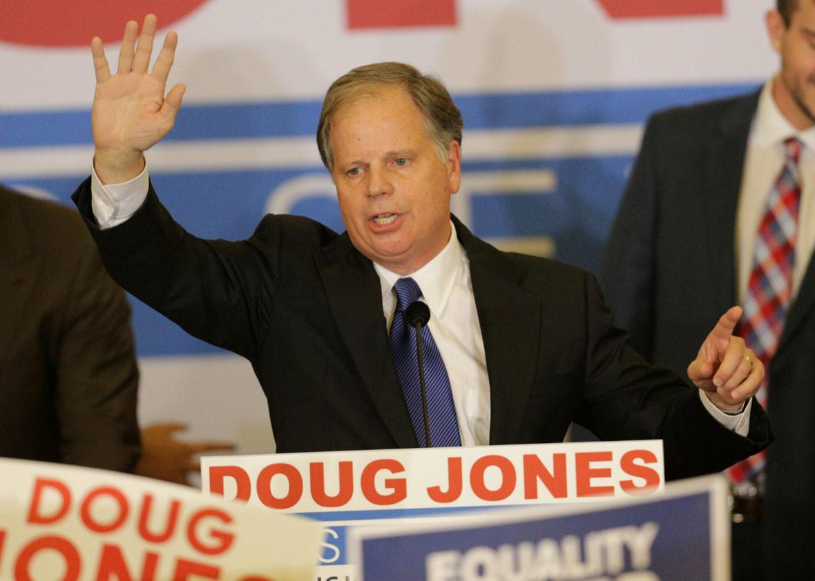Democratic Alabama U.S. Senate candidate Doug Jones