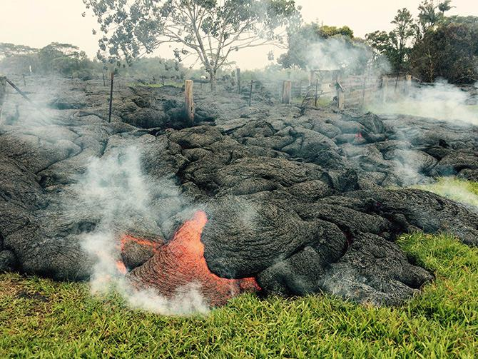 This weekend, the lava buried a century-old cemetery with graves of first-generation Hawaiian immigrants.