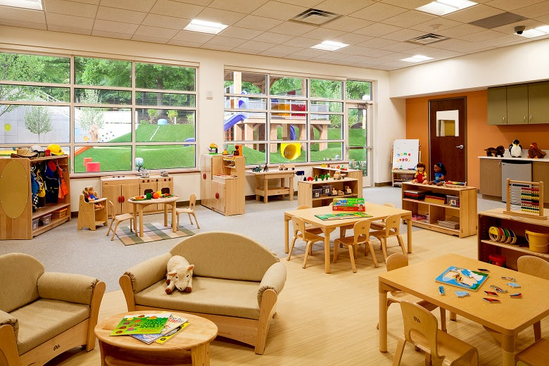 The state-of-the-art child care center that Home Depot built.