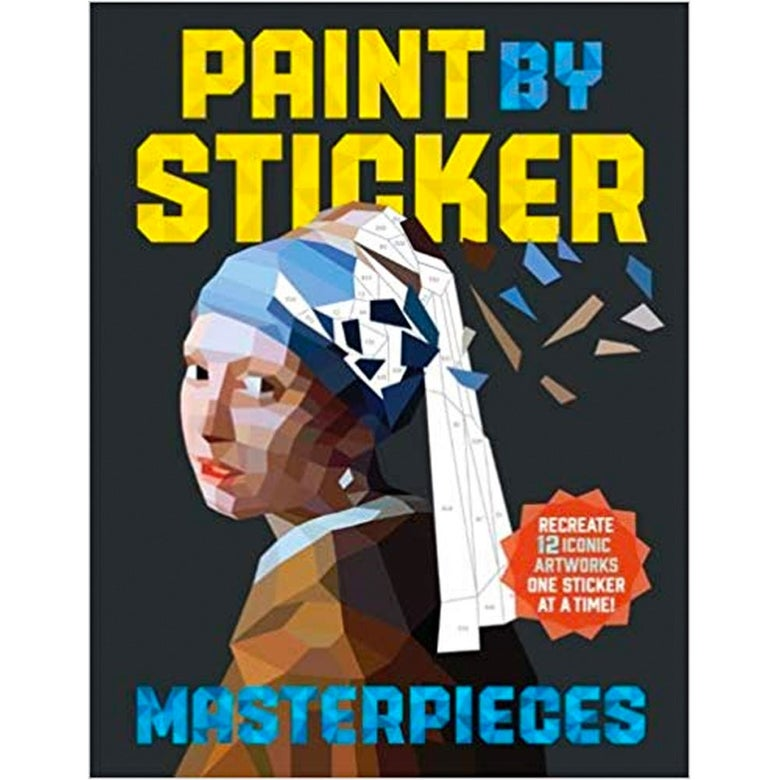 Paint by Sticker Masterpieces.