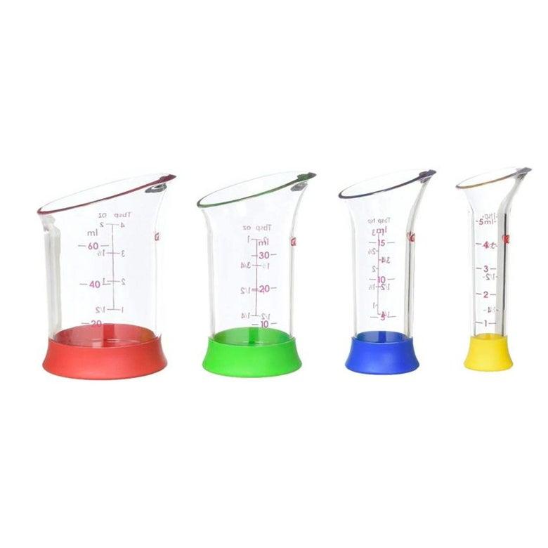 Oxo 4 Piece Mini Measuring Beaker Set
