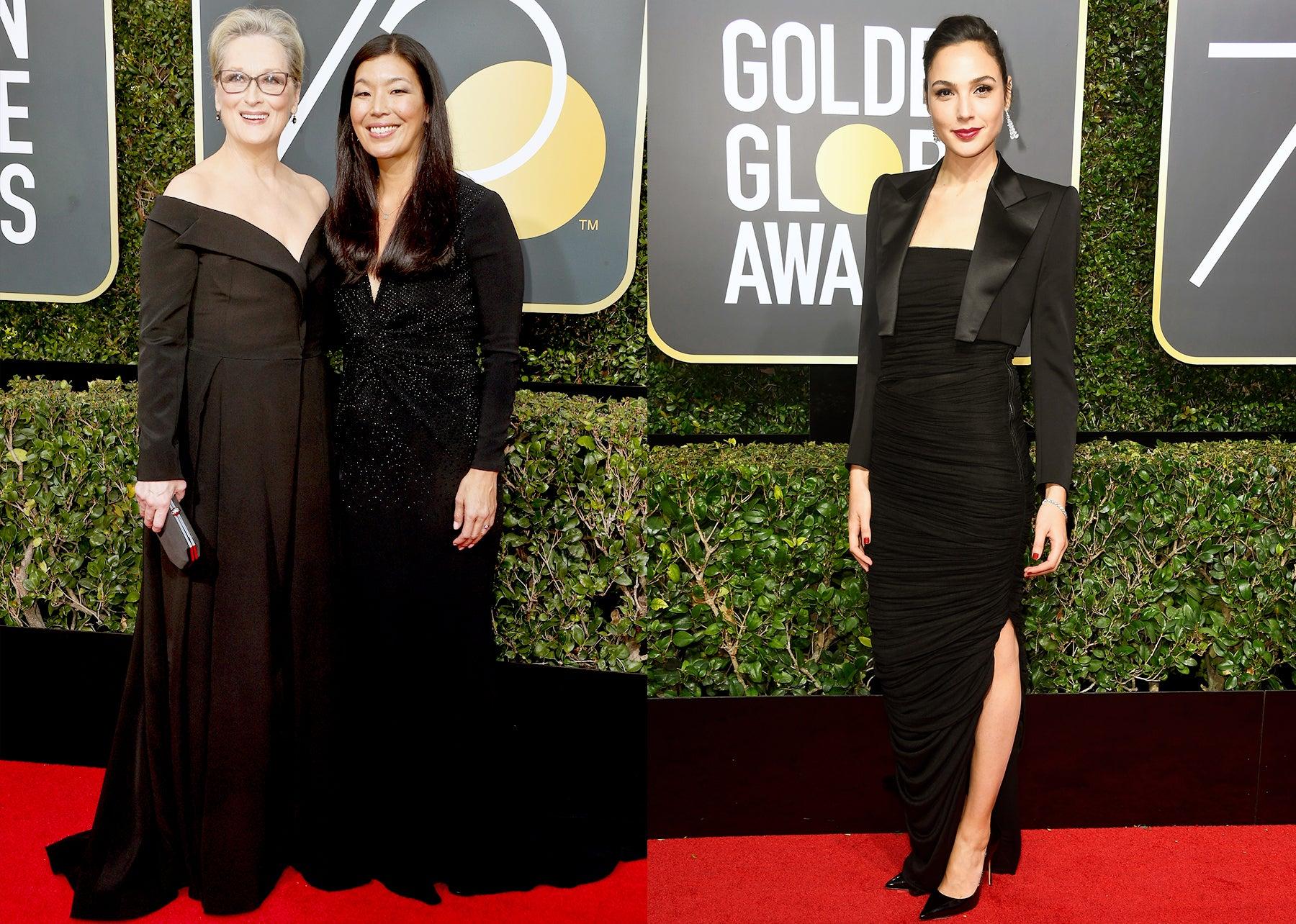 Meryl Streep, Ai-Jen Poo, and Gal Gadot.