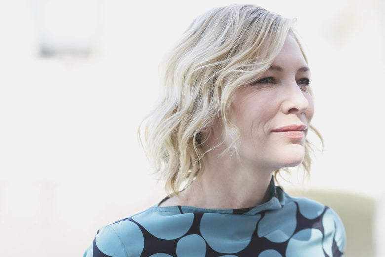 Cate Blanchett attends the IWC Photocall on day two of the 14th annual Dubai International Film Festival held at the Madinat Jumeriah Complex on December 7, 2017 in Dubai, United Arab Emirates.