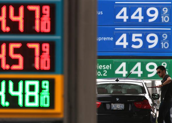 Gas prices.