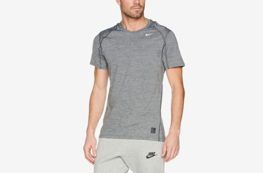 Nike Men's Pro Fitted Short Sleeve Shirt.
