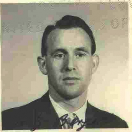 Friedrich Karl Berger is seen in a 1959 photograph released by the Department of Justice.