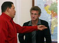 Hugo Chavez and Sean Penn. Click image to expand.