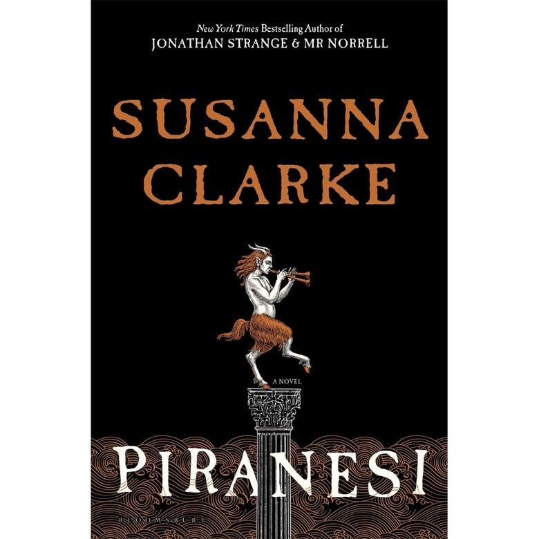 Book cover of Piranesi.