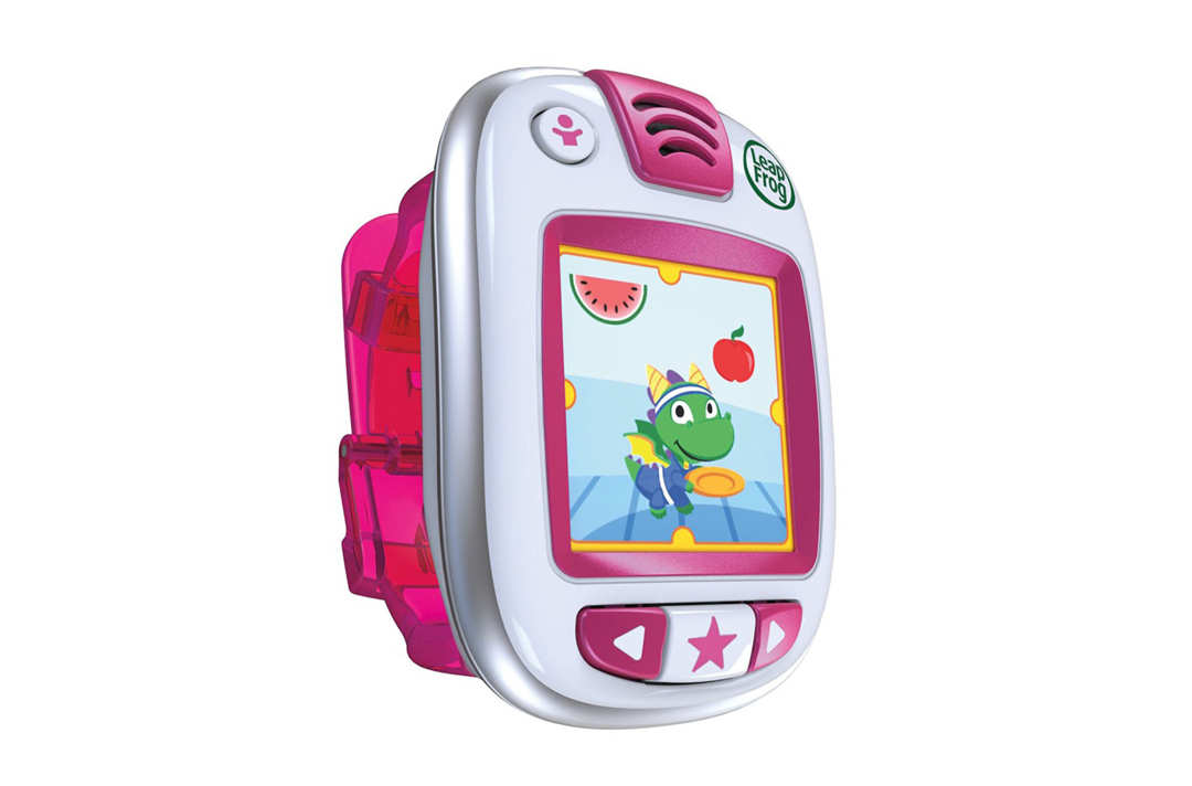 White and pink Leapfrog Leapband.