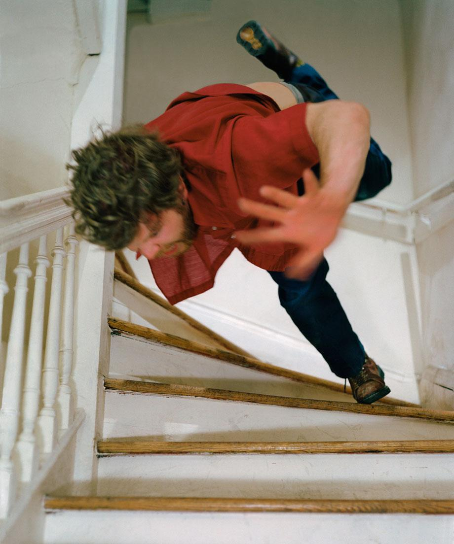 "Kerry Skarbakka The Struggle to Right Oneself ""Stairs""."