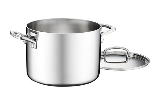 Cuisinart FCT66-22 French Classic Tri-Ply Stainless 6-Quart Stockpot.