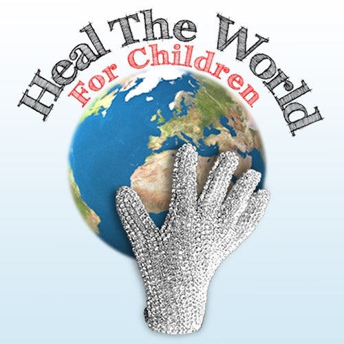The logo for the Heal the World for Children Organization.
