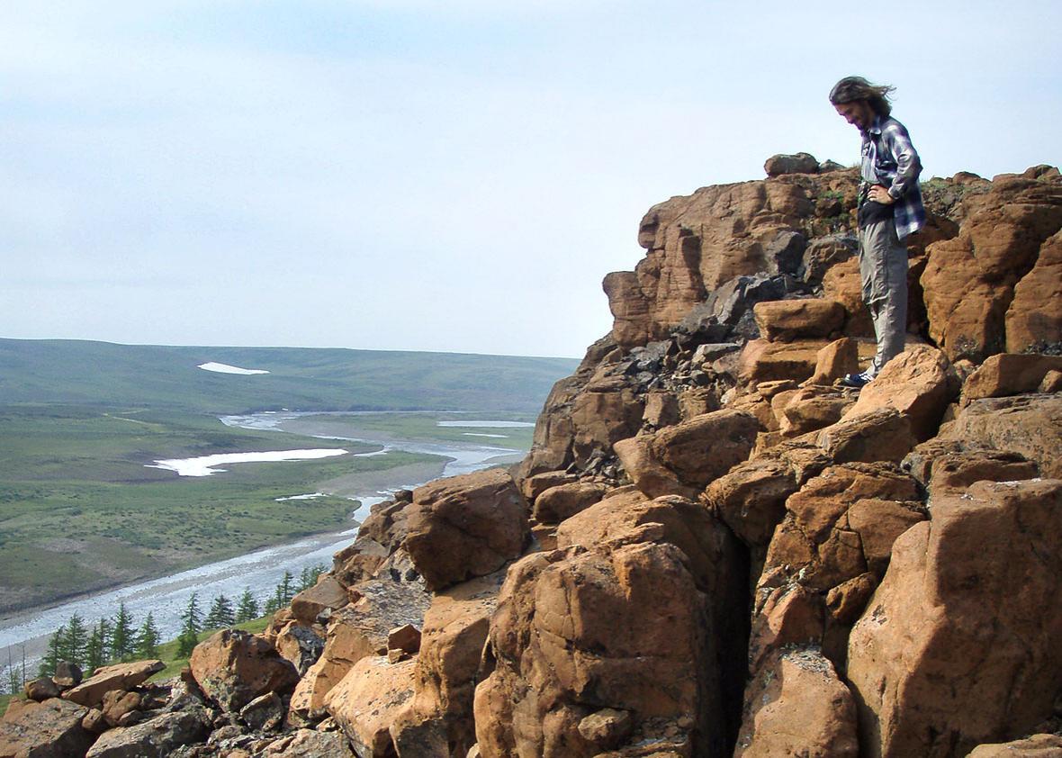 Samoedsky outcrop, July 25, 2012.