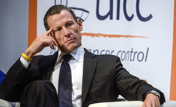 Lance Armstrong, chairman and founder at LIVESTRONG, speaks about Survivorship.