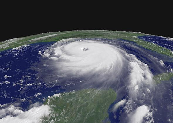 Hurricane Katrina.