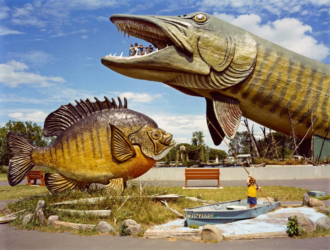 National Freshwater Fishing Hall of Fame, Hayward, Wis. 1984