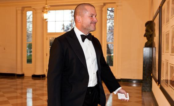 Sir Jony Ive, senior vice president at Apple