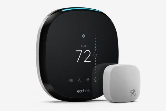 Ecobee4 Smart Thermostat.