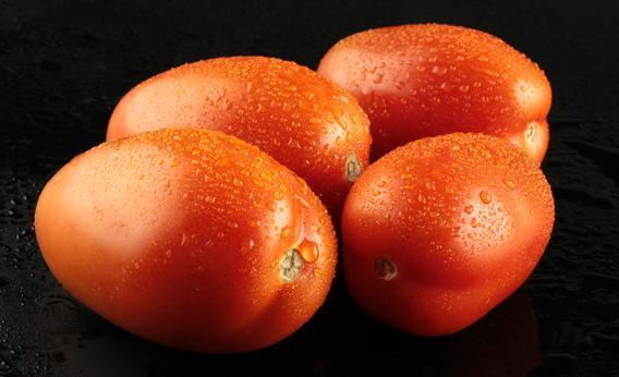 Roma tomatoes.