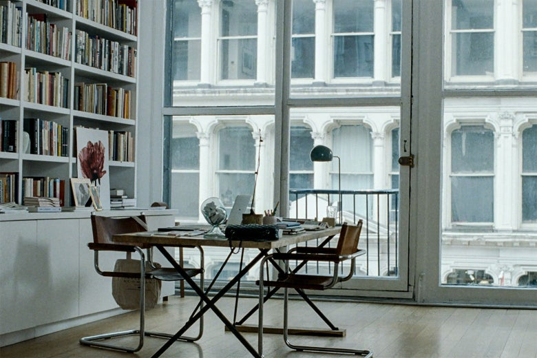 A light-filled office with a view of SoHo