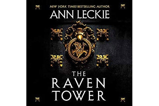 Audiobook cover of The Raven Tower.