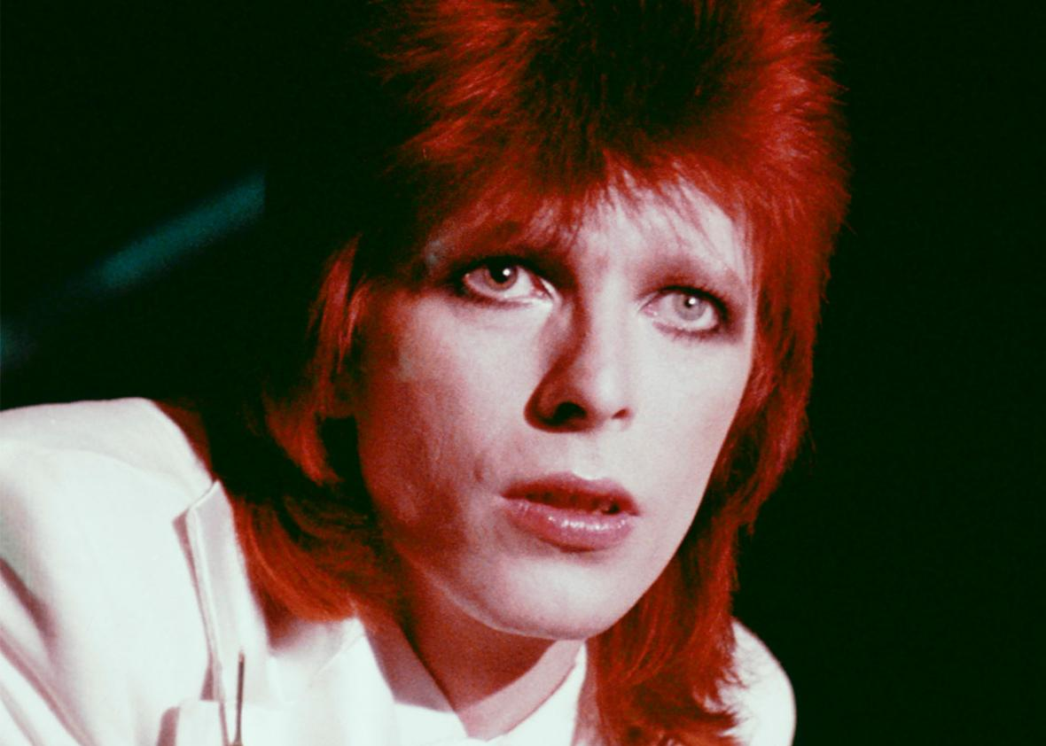 David Bowie, impersonator.