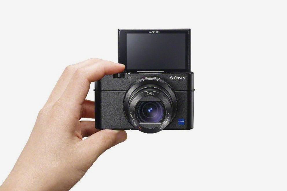 Sony Cyber-Shot camera.