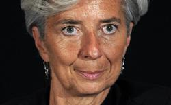 France's Finance Minister Christine Lagarde. Click image to expand.
