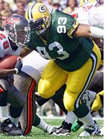 Packers tackle Gilbert Brown