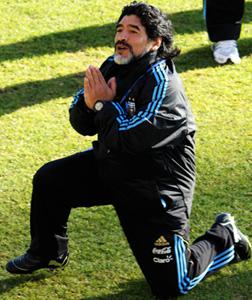 Diego Maradona. Click image to expand.