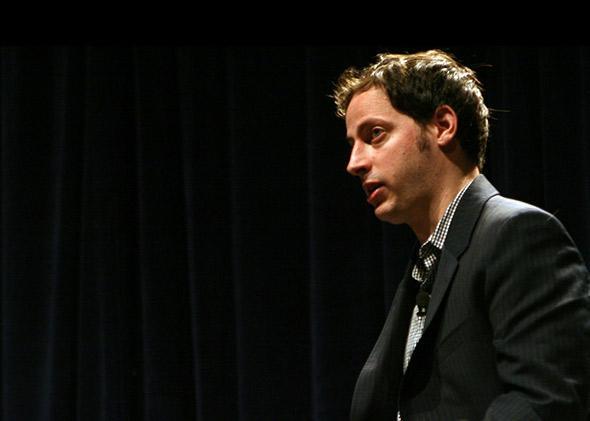 Nate Silver at SXSWi 2009.