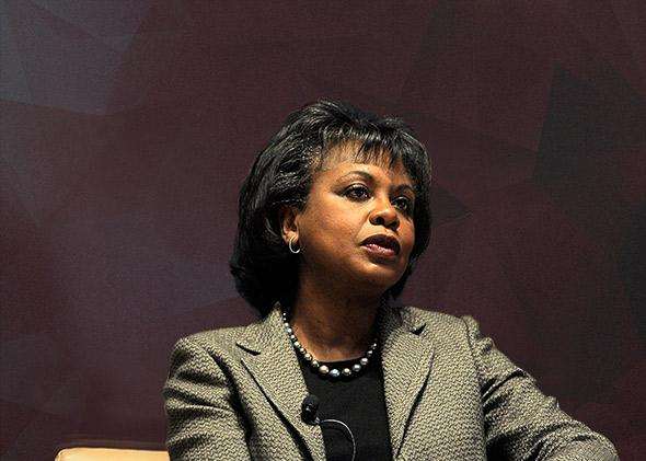 Professor Anita Hill, November 2011 in New York City.