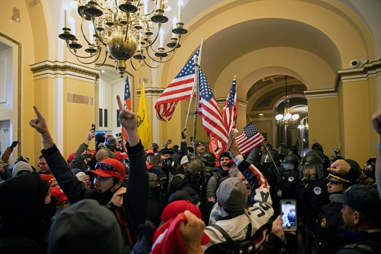 Capitol Rioter Who Said She Wanted to Shoot Pelosi 'In the Friggin' Brain' Arrested